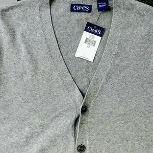 **50% off NEW** Chaps 2-Pocket Sleeveless Vest